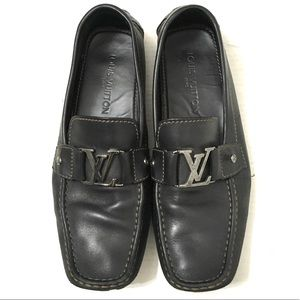 Louis Vuitton Monte Carlo Moccasin Black Loafers